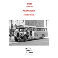 B1250 Alexander (1925-1945)