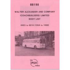 BB190 Alexander 4493-6014 (1954-1960)