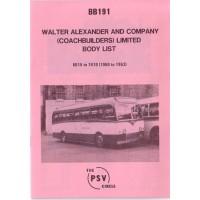BB191 Alexander 6015-7410 (1960-1963)
