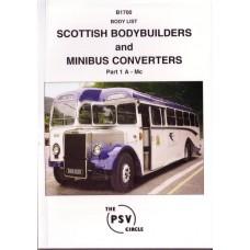 B1700 Scottish Bodybuilders & Minibus Converters 1: A - Mc