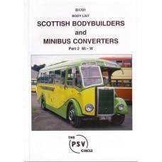 B1701 Scottish Bodybuilders & Minibus Converters 2: Mi - W