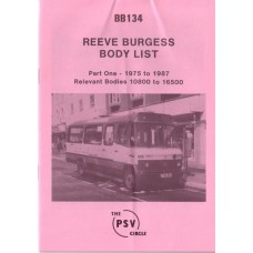 BB134 Reeve Burgess Part 1 1975-1987 (passenger vehicles only)