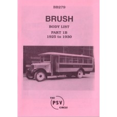 BB279 Brush - Part 1b 1925-1930