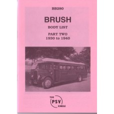 BB280 Brush - Part 2 1930-1940