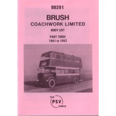 BB281 Brush Coachwork Ltd - Part 3 1941-1952