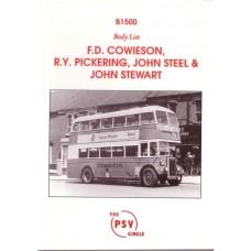 B1500 Cowieson, Pickering, Steel & Stewart