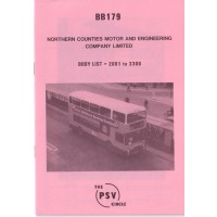 BB179 Northern Counties 2001 - 3301