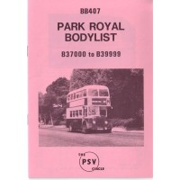 BB407 Park Royal B37000 - B39999