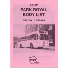 BB410 Park Royal B54200 - B56999