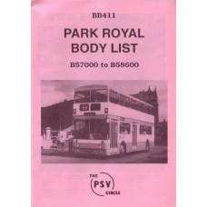 BB411 Park Royal B57000 - B58600