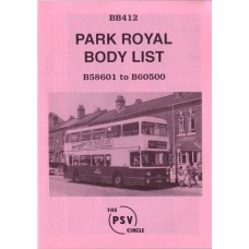 BB412 Park Royal B58601 - B60500