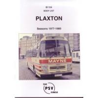 B1154 Plaxton bodies 1977-1980