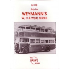 B1100 Weymanns' W, C & W(LT) series