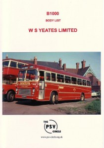 B1000 W.S. Yeates Limited. (entire production)