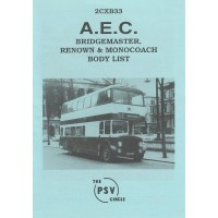 2CXB33 AEC Bridgemaster, Renown & Monocoach