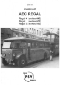 C1131 AEC Regal: Regal 4 (series 642), Series 622, Regal II (Series 862)