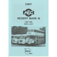 CXB97 AEC Regent III 0961/9613 - nos 2088 - 4281