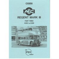 CXB98 AEC Regent III 0961/9613 - nos 4282 - 6388