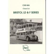 CXB1404 Bristol Lodekka LD & F (complete)