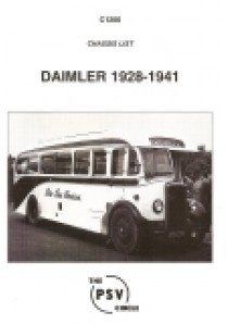 C1200 Daimler 1928-1941 (7000, 8000 and 9000 series)