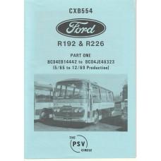 CXB554 Ford R192 & R226 Part 1