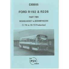 CXB555 Ford R192 & R226 Part 2