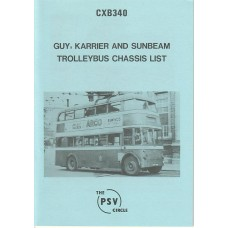 CXB340 Guy Carrier & Sunbeam Trolleybuses