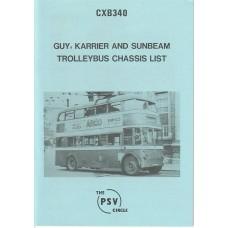 CXB340 Guy Carrier & Sunbeam Trolleybuses