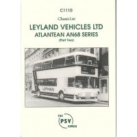 C1110 Leyland Atlantean AN68B/1R etc. to end