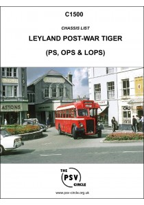 C1500 Leyland Post-war Tiger Chassis (PS, OPS & LOPS)