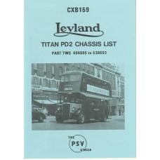CXB159 Leyland Titan PD2 494605-530693