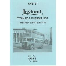 CXB161 Leyland Titan PD2 570461-603630