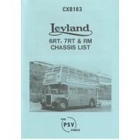 CXB163 Leyland Titan 6RT, 7RT, RM