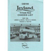 CXB166 Leyland Titan PD3 Part 2 L00029-L65363, 700133-902844