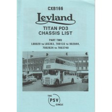 CXB166 Leyland Titan PD3 Part 2 L00029-L65363, 700133-902844