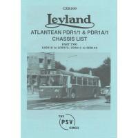 CXB169 Leyland Atlantean PDR1/1 Part 2 L20016-L65573, 700011-805149