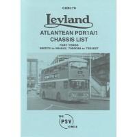 CXB170 Leyland Atlantean PDR1/1 Part 3 900075-904042, 7000038-7304627