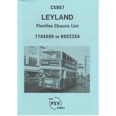 CXB67 Leyland Fleetline 7704006 - 8002356