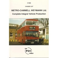 C1900 MCW Integral Production (Metrobus, Metrorider, Metroliner)
