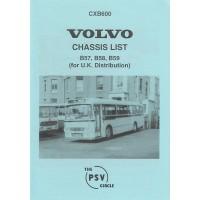 CXB600 Volvo B57, B58, B59 (UK distribution)