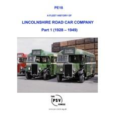 PE18 Lincolnshire Road Car Company Part 1 (1928-1949)