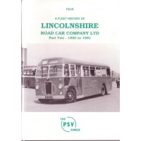 PE4R Lincolnshire Road Car Part 2: 1950-1981 (reprint)