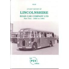 PE4R Lincolnshire Road Car Part 2: 1950-1981 (reprint)