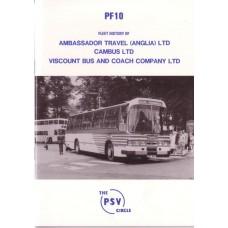 PF10 Ambassador Travel (Anglia) Ltd, Cambus & Viscount