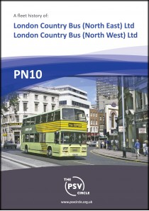 PN10 A fleet history of London Country Bus (North East) Ltd & London Country Bus (North West) Ltd