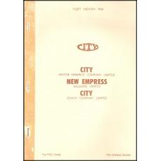 PN6 City Motor Omnibus, New Empress, City Coach Co.