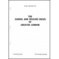 PX1 ~ School and Welfare Buses of Greater London