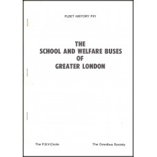 PX1 School and Welfare Buses of Greater London