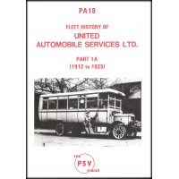 PA18 United Automobile Services (1912 to 1925)