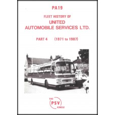 PA19 United Automobile Services (1971 to 1987)